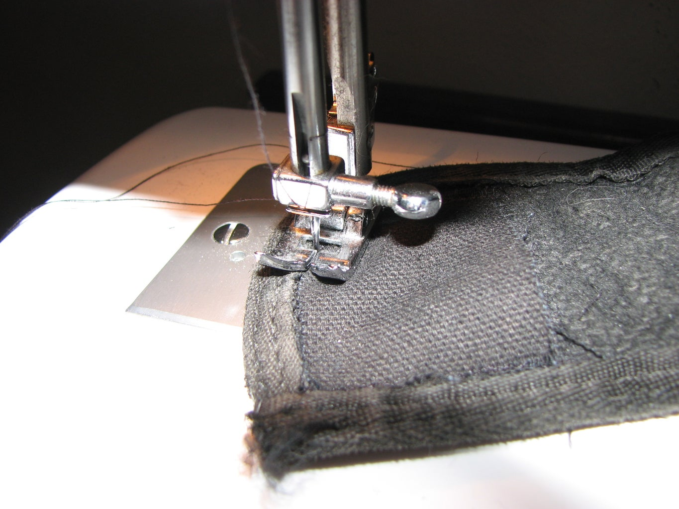 Partially Sew on Magnet Cover Cloth