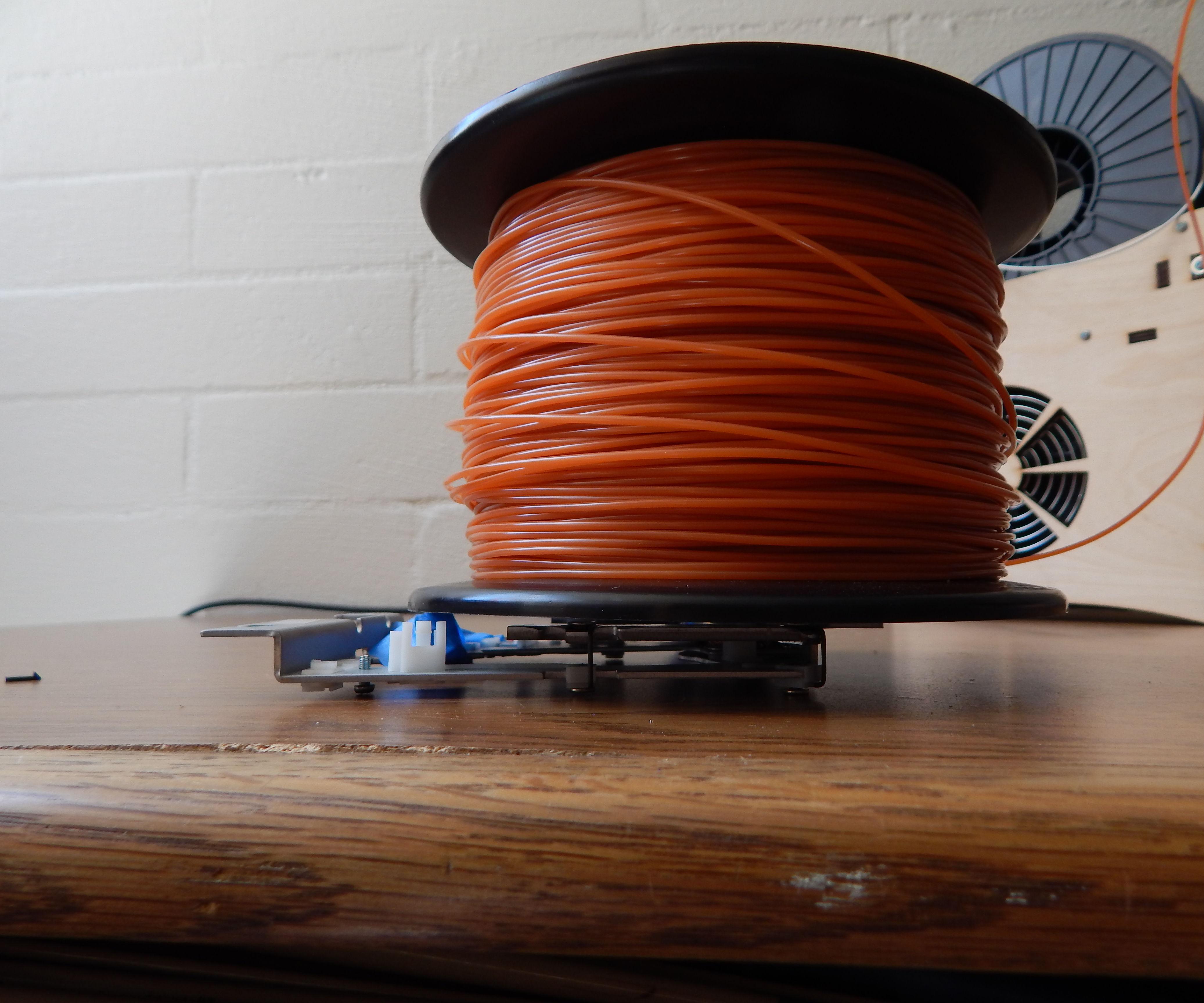Cheap, Easy, Universal Filament holder