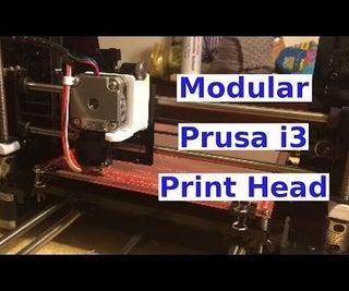 Prusa I3 Modular Print Head