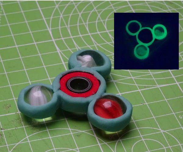 Glowing Spinner Fidget Toy