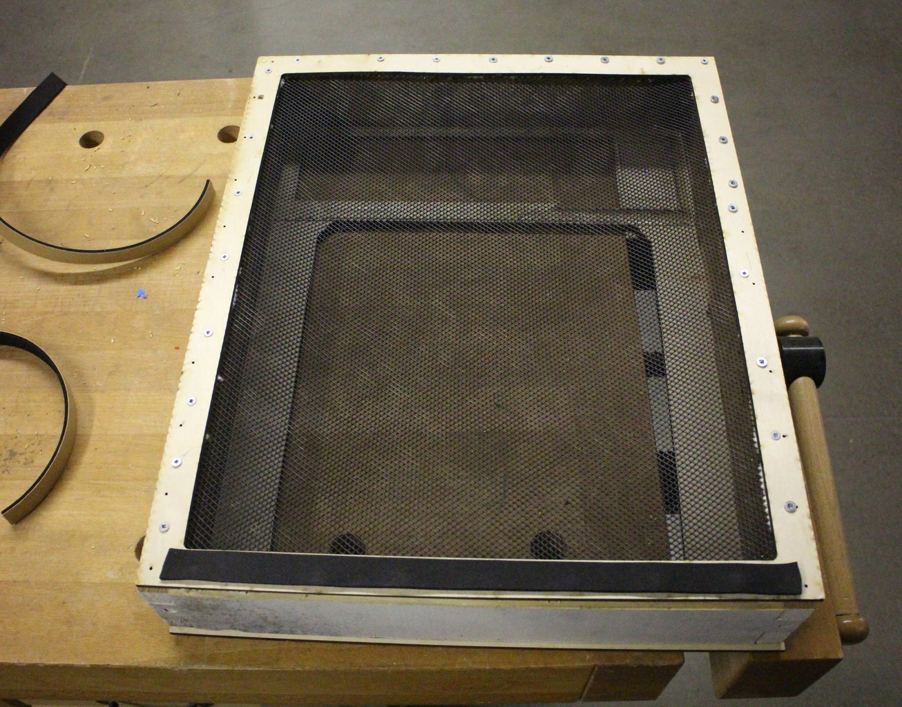Final Assemble and Seal on Your Vacuum Top