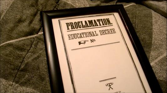 Proclamation #...