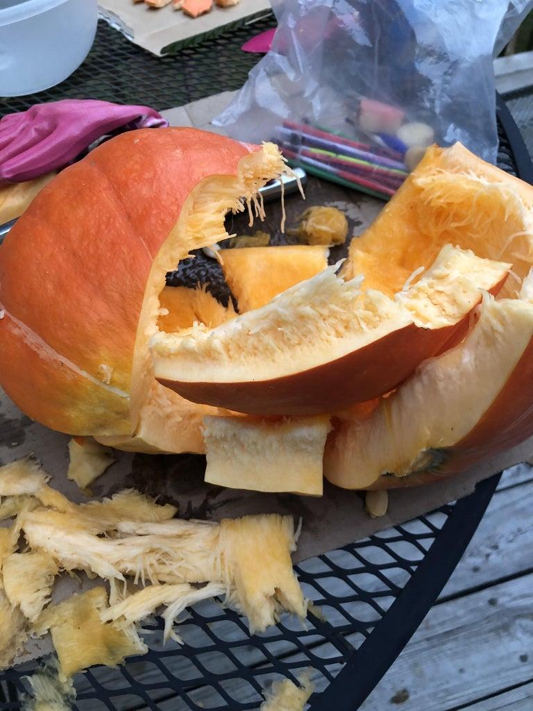 Step 2: Pumpkin Destroyer
