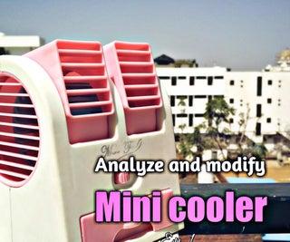 Modify & Analyze Mini Cooler | Tp4056 Charging Module | Li-ion Battery | Ohm's Low | Vishal Soni