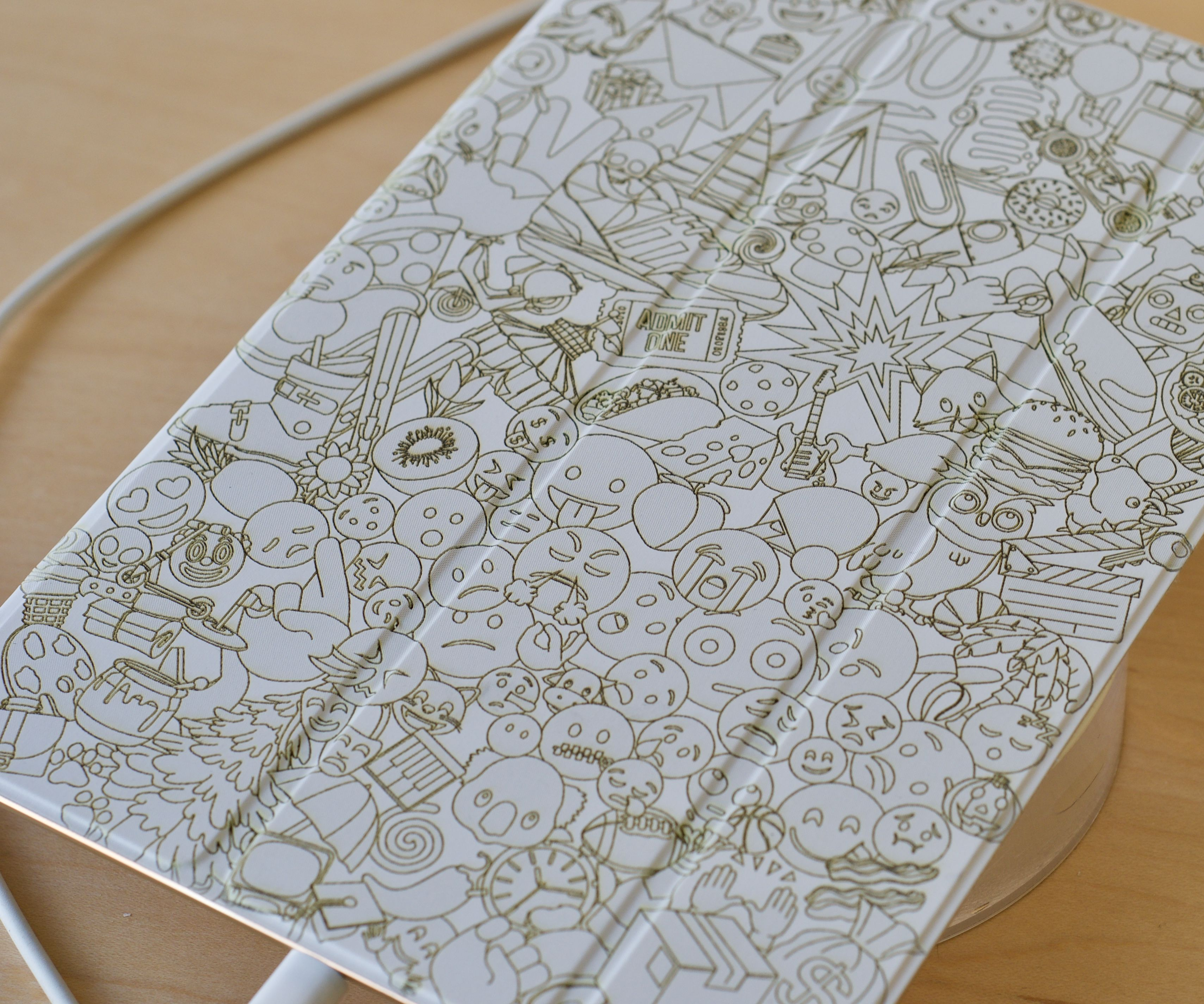 Tattoo Your iPad Smart Cover