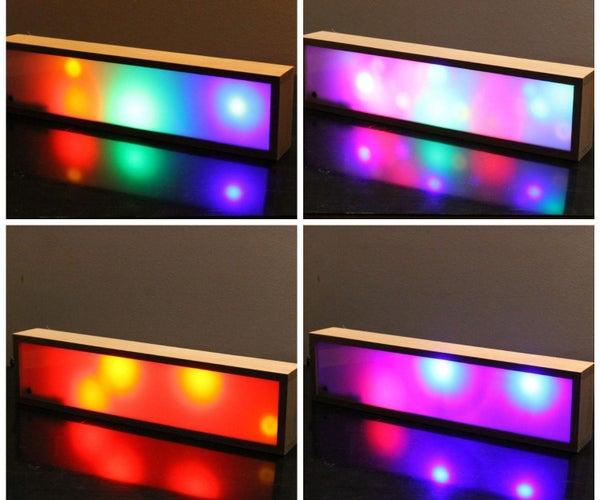 便携式迪斯科V2 -声音控制的LED