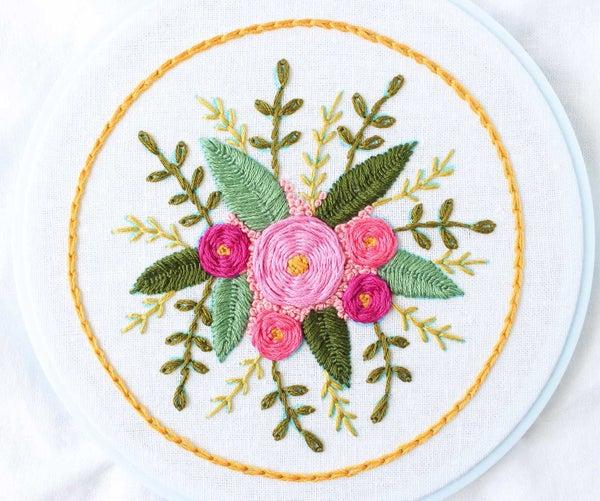 Floral Stitch Sampler