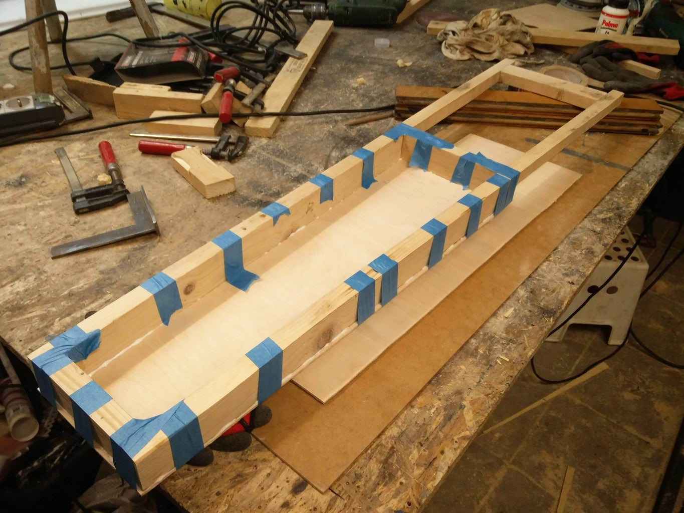 Cut Out the Back of the Instrument and Glue It Together