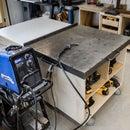 焊接工作台封面的工作台