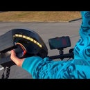Smartphone Controlled Helmet With LED Indicators
