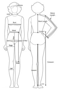Sizing Information for Skirt