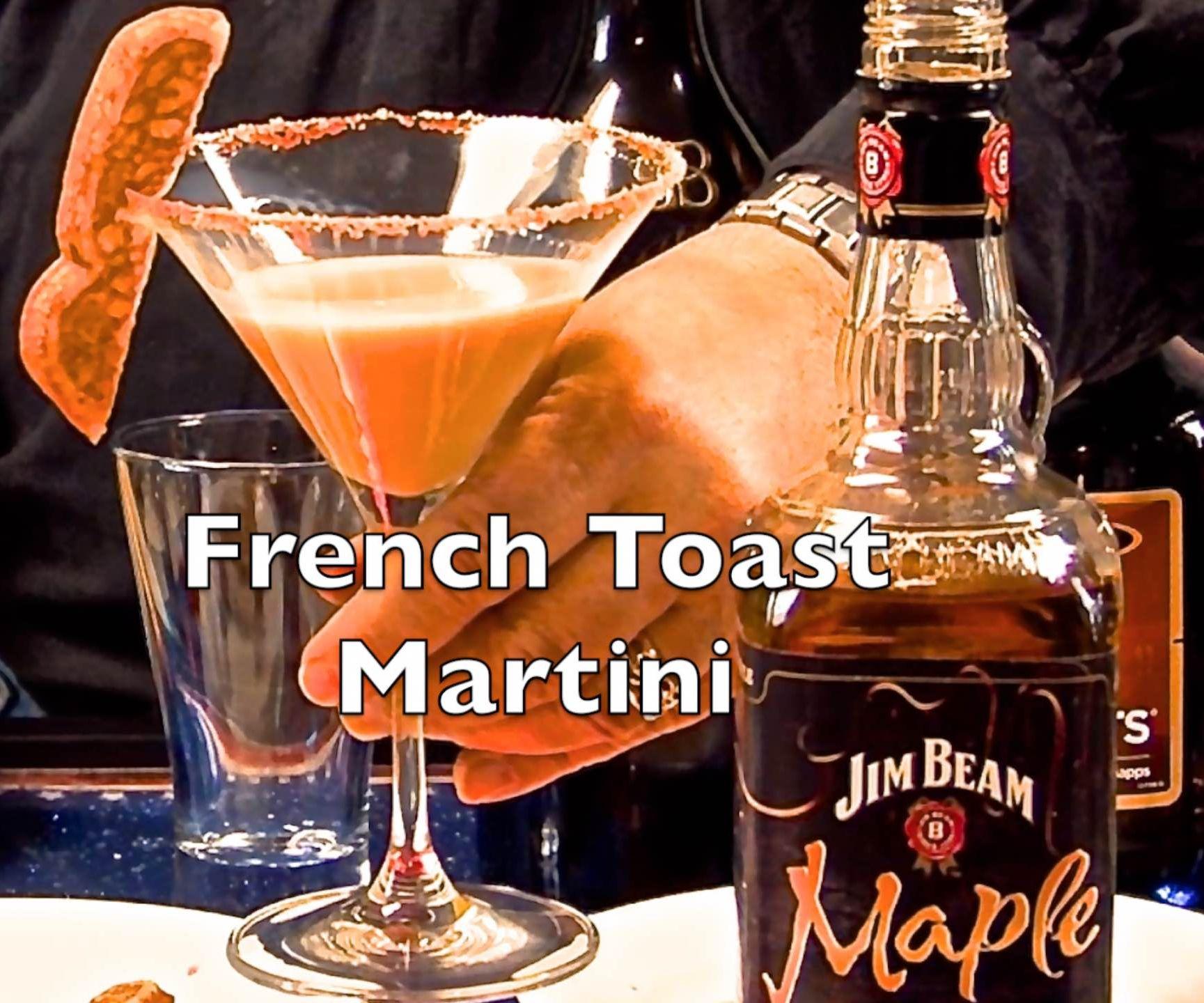 Yummy French Toast Martini
