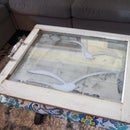 Serving Tray – Old Window Upcycle for the Living Room!