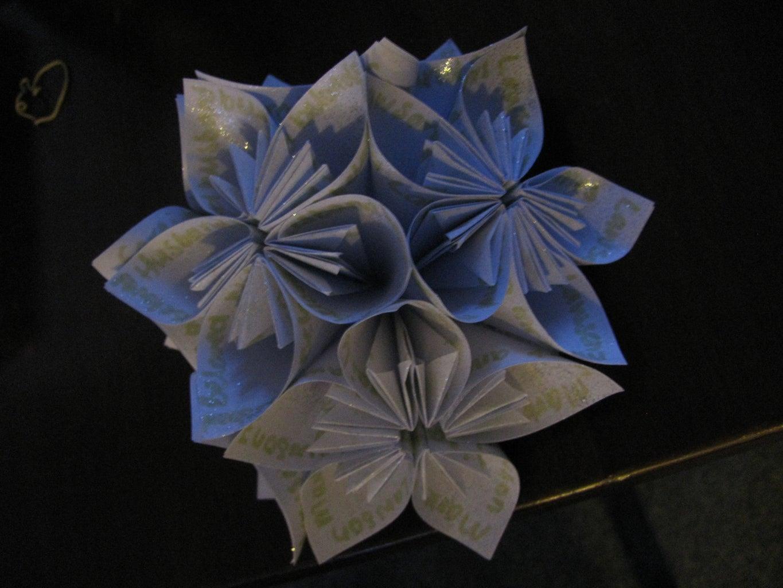 Hard Veil With Origami Fascinator