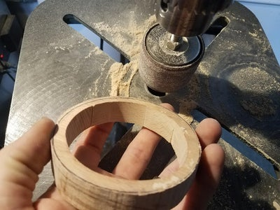 Smoothing the Inner Diameter of the Rings