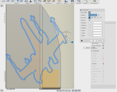 Add a Work Plane and Import the .dxf File