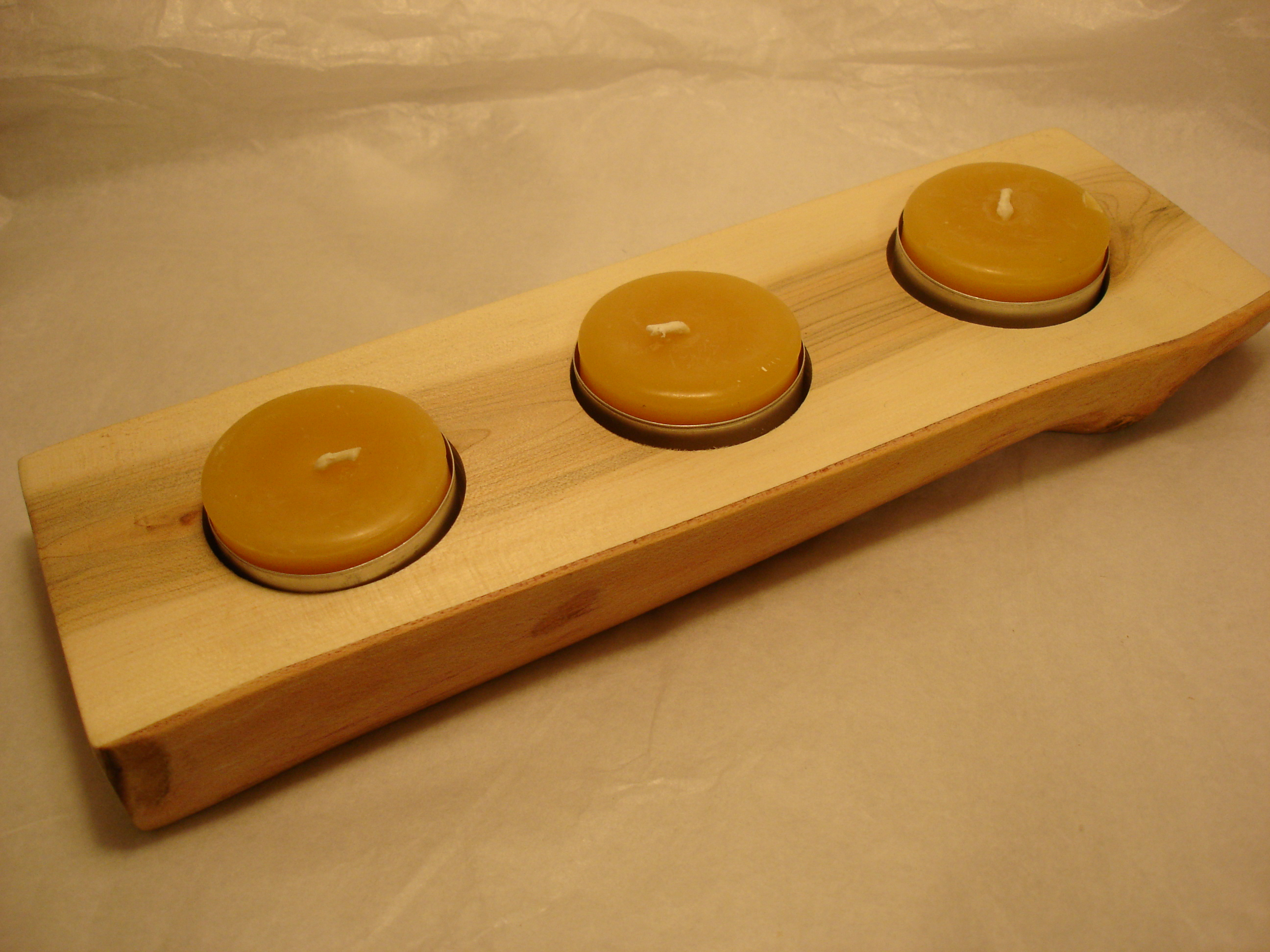 Wooden Candle Holder 5 Steps With Pictures Instructables