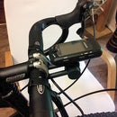 Garmin bicycle GPS (705/805) mount (to stem faceplate)