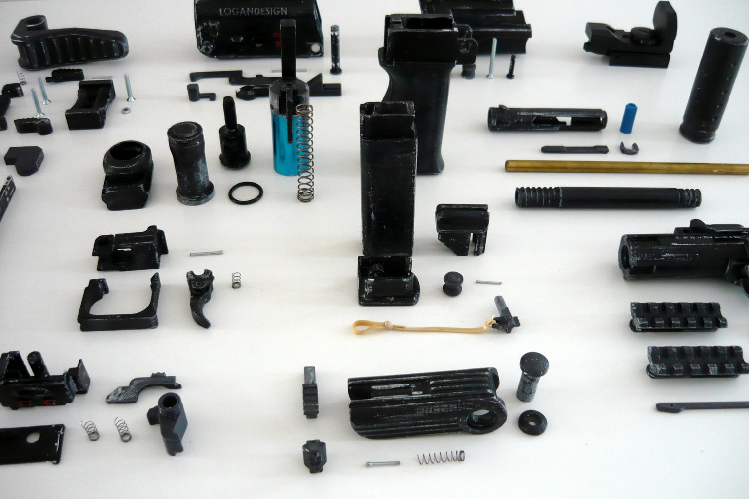 Printing and Collecting Parts