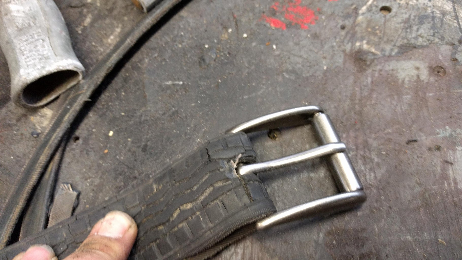Securing the Buckle in Place