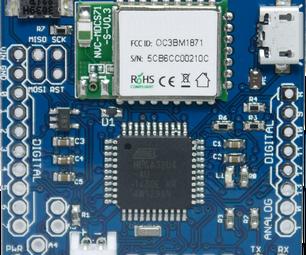 An Easy Ardunino Compatible BLE Beginner Board With IOS SDK