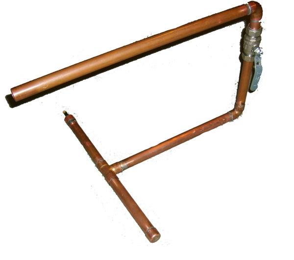 Copper Pneumatic Air Cannon