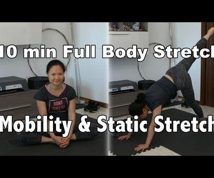 10 min Full Body Flexibility Training