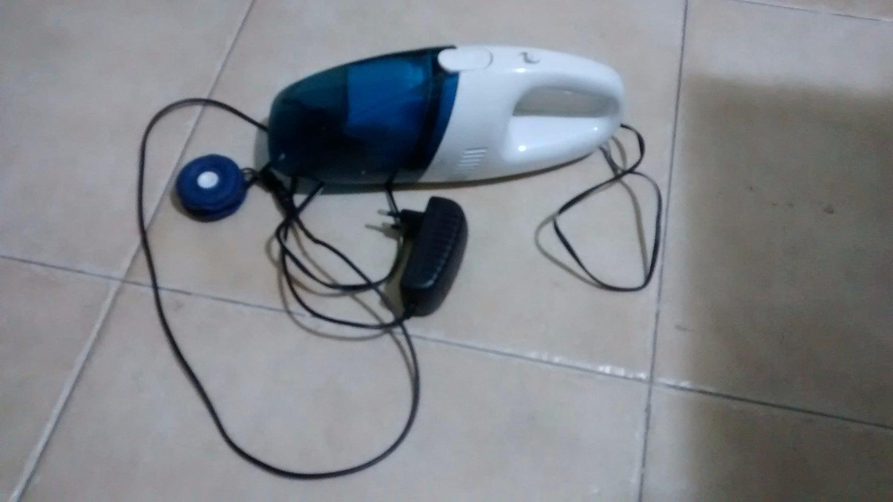 DIY Mini Vacuum Cleaner