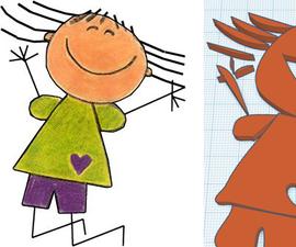 "Make ""Joy"" Using Google Drawings & Tinkercad"