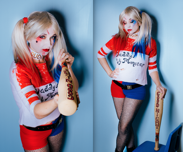 How to Make a Harley Quinn Costume From Suicide Squad