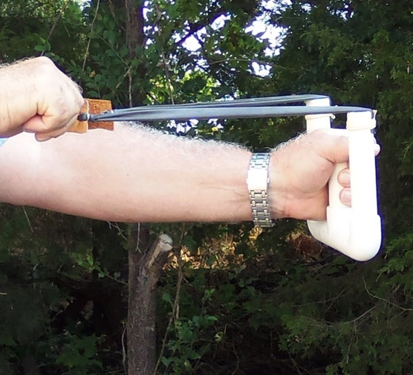 Slingshot,  Easy, High Power, PVC, W Type