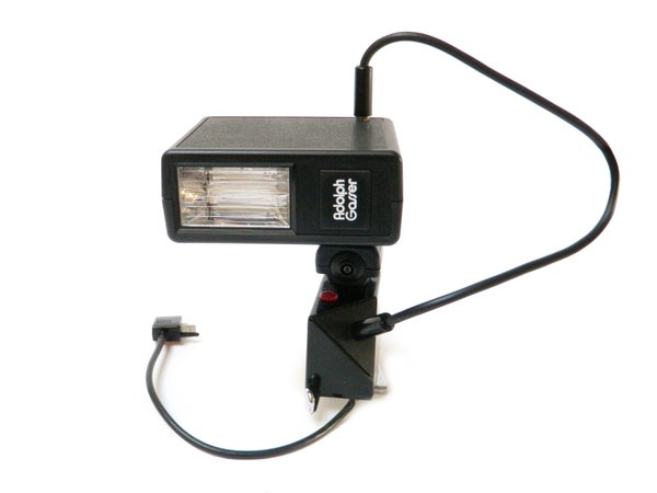 Land Camera Electronic Flash Mount