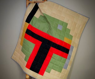 $15 Star Wars Pixel Quilt