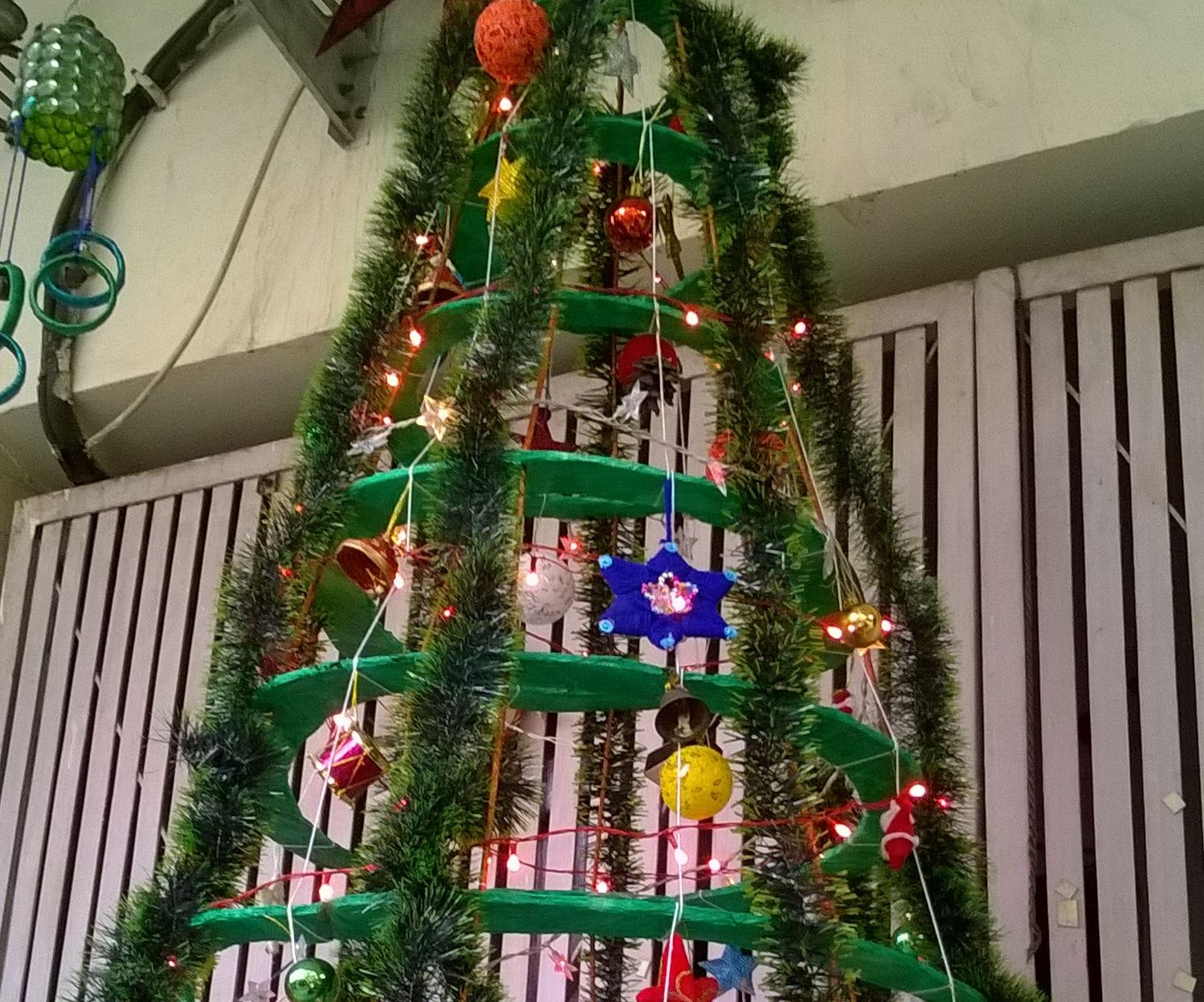 best out of waste cardboard christmas tree
