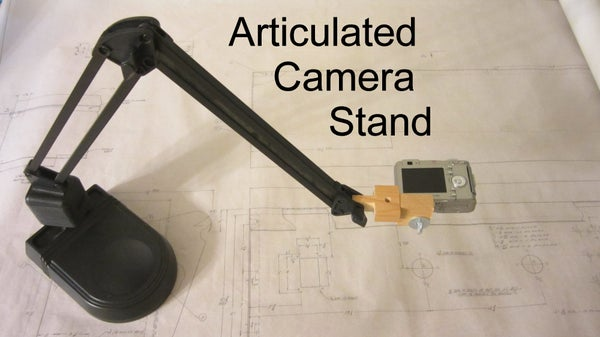 Articulated Camera Stand