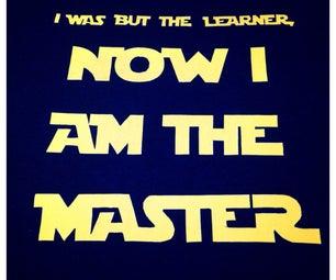 Star Wars Master's Graduation Gift