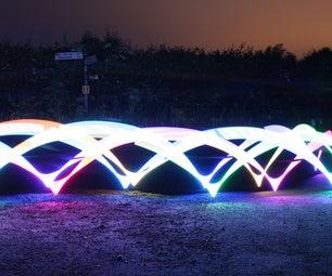 Rainbow Bike Lights
