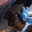 How to Replace Front Brake Disc Rotors 2004 Honda CRV