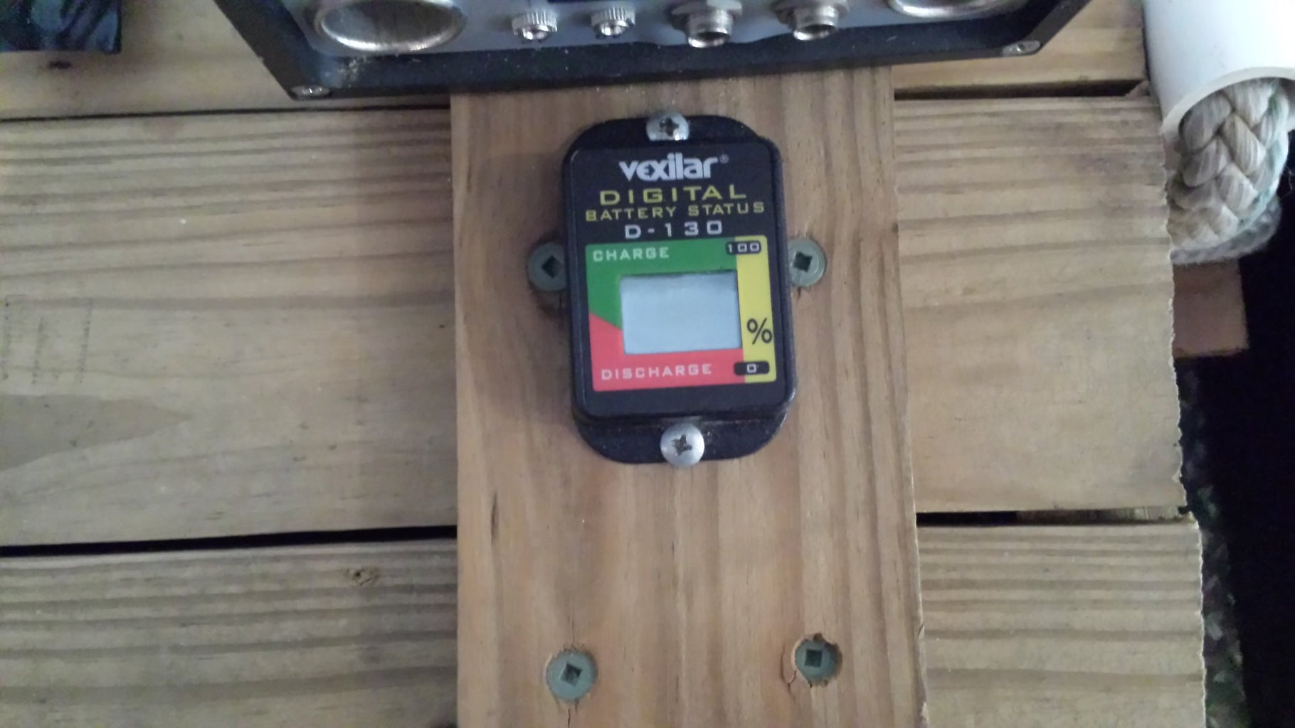 Adding the Battery Meter and Toggle Switch