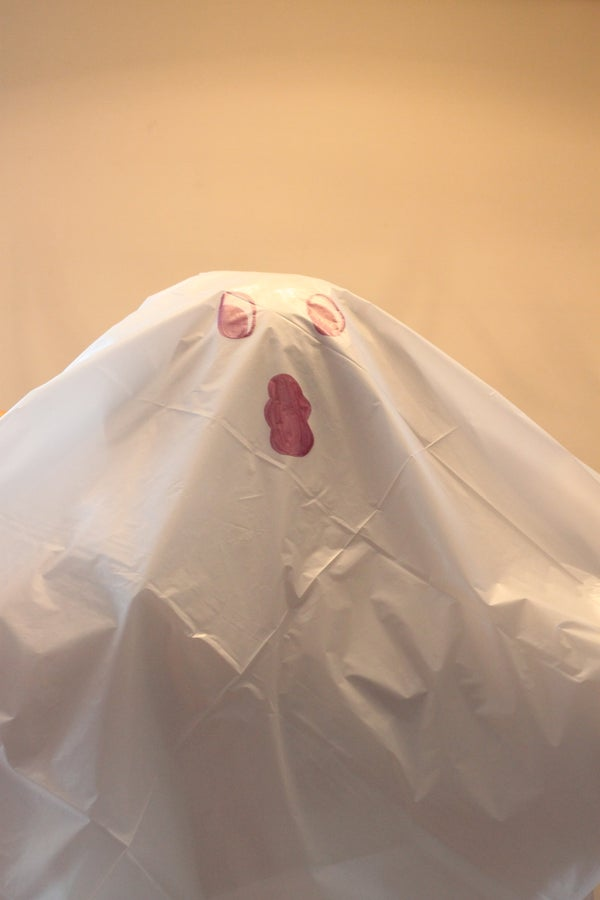 Easy-Peasy (and Cheap!) Ghost Pinata