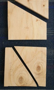 Bicycle Attachment Plate: Rough Cut and Sanding