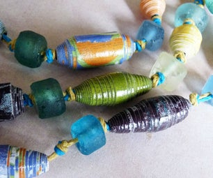 Durable Handmade Paper Beads