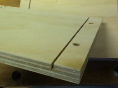 Shelf Making - Side and Back Pieces