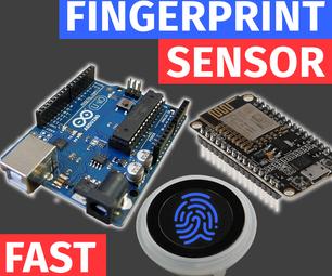 与Arduino Uno接口电容指纹传感器