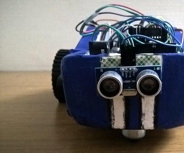 Arduino Based Robotic Car(wireless Controls+Autonomous)