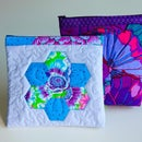 Quilted Zippered Bag