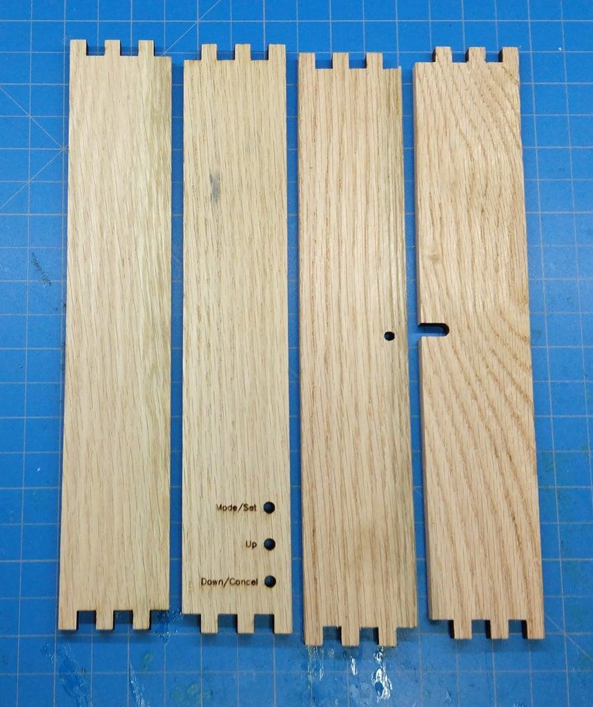 Cut Oak Parts