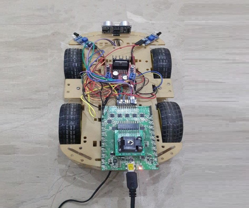 Wall Following Robot / Obstacle Avoiding Robot