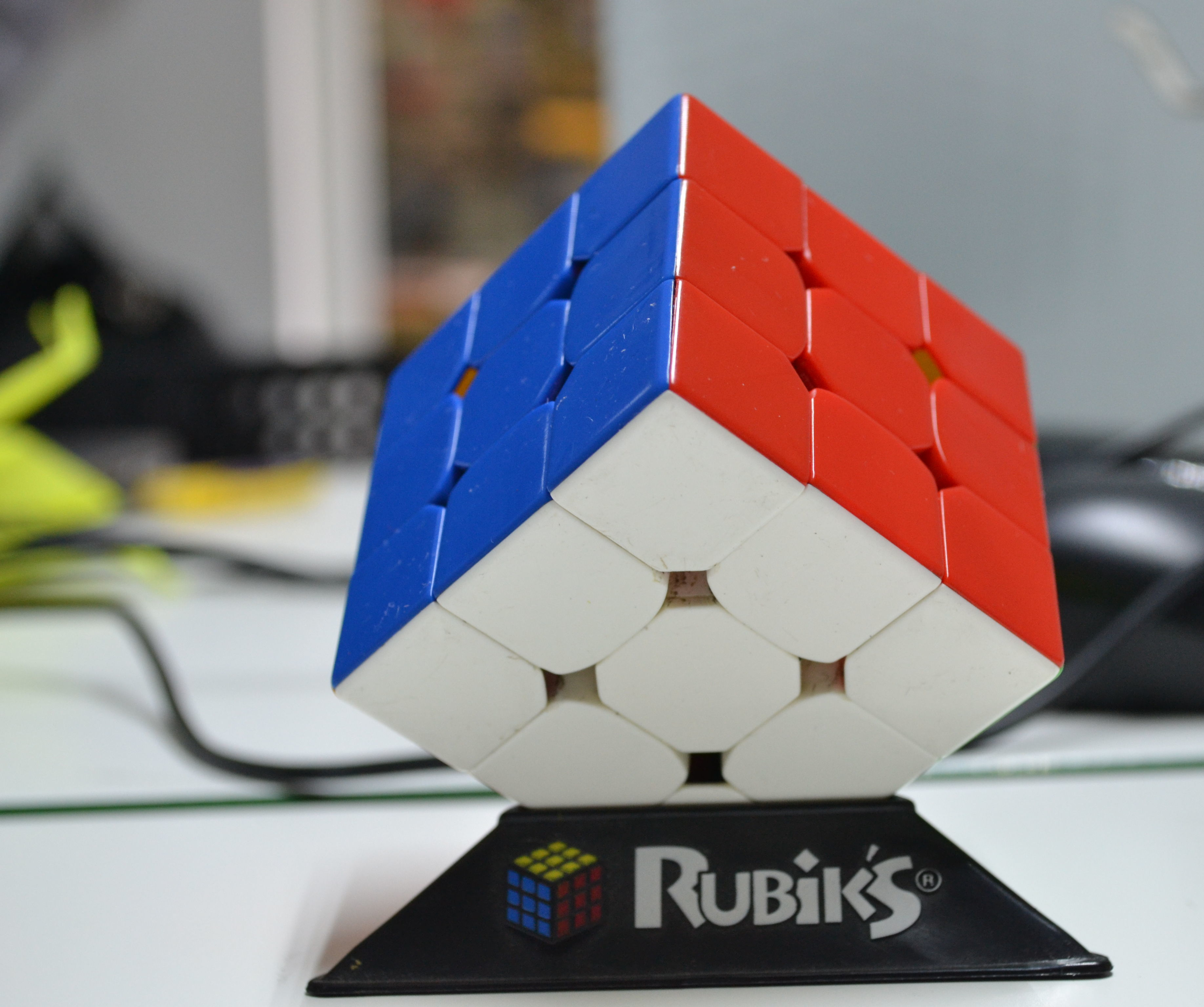 How to solve fridrich algorithm in Rubik's cube. The first 5