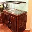 Fish Aquarium Stand (40 breeder tank with hidden sump door)